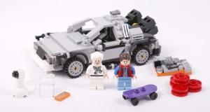 Lego ritorno al futuro Cuusoo Delorean