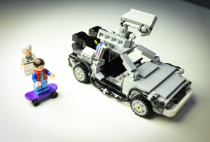 lego delorean cuusoo kit completo