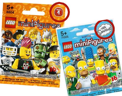 lego minifigures serie 12 - serie ordinarie e serie speciali