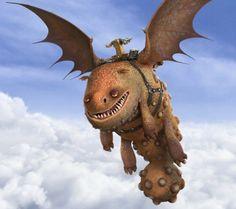 Ruttocaldo Hotburple draghi Dragon Trainer