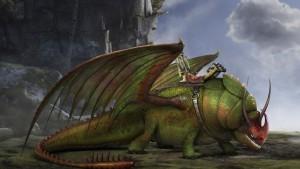 drago Cornotonante dragon trainer 2