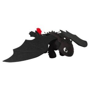 nuovo peluche dragon trainer sdentato furia buia