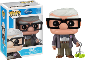 carl Up! disney funko pop