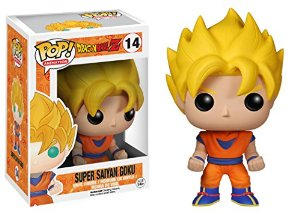funko pop vinyl goku super sayan dragon ball z