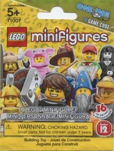 lego minifigures bustina