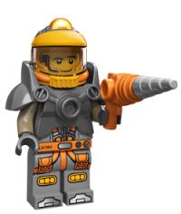 lego minifigures serie 12 Minatore Spaziale