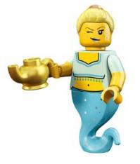 lego minifigures serie 12 Ragazza Genio