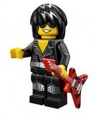 lego minifigures serie 12 Rock Star