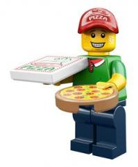 lego minifigures serie 12 Uomo delle Pizze