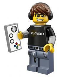 lego minifigures serie 12 Video giocatore
