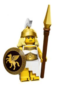 lego minifigures serie 12 dea della guerra