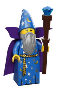 lego minifigures serie 12 il mago
