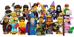 lego minifigures serie 12 tutti i personaggi