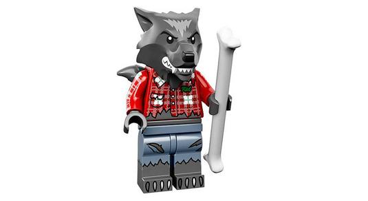 lego minifigures 14 uomo lupo licantropo