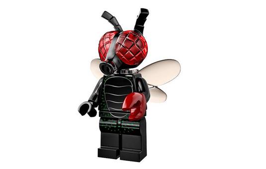 lego minifigures 14 uomo mosca