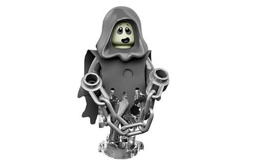 lego minifigures 14 uomo spettro fantasma