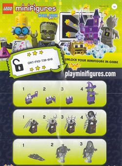 lego minifigures serie 14 monsters volantino retro