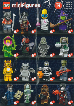 lego minifigures serie 14 monsters volantino