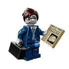 minifigure rare serie 14 - uomo affari zombie