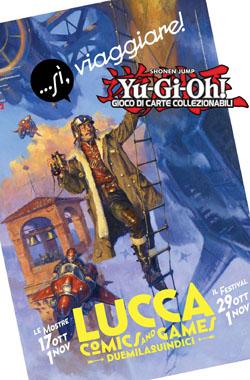 yu gi oh a lucca comics 2015
