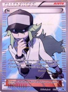 carta singola Pokemon Allenatore N