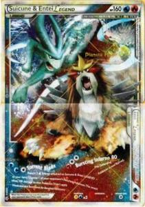 carte singole pokemon leggenda Suicune & Entei