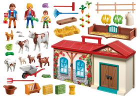 Playmobil fattoria accessori