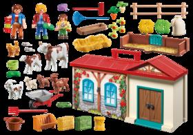 Playmobil fattoria accessori