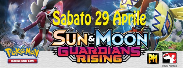 Prerelease Pokemon Sole e Luna Guardiani Nascenti