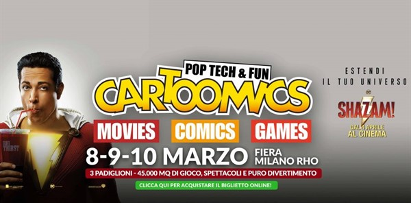 Cartoomics 2019 - Movie, Comics & Games