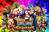Dragon Ball Card Game! Arriva la serie 7 Assault of the Saiyans!!