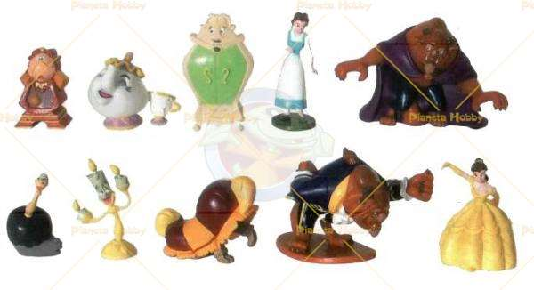 Bullyland Disney,LA BELLA E LA BESTIA-Personaggio Nuovo da collezione BESTIA