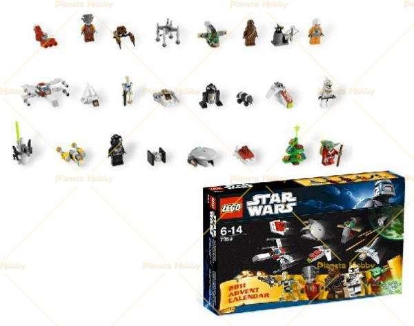 Calendario Avvento Lego City.Star Wars Calendario Dell Avvento 7958