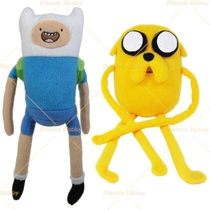 Adventure Time - Coppia Finn e Jake peluche misura 1
