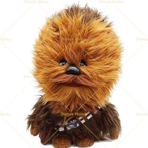 STAR Wars 24-Inch MEGA poseable Chewbacca Peluche Parlante NUOVO con scatola Hans Solo Empire