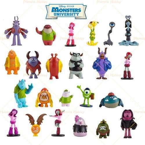 Monster University Slimy Figurines Serie Completa
