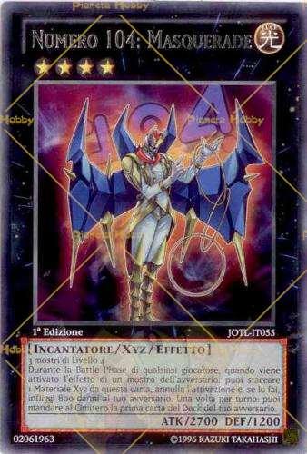 Carte Xyz Incantatore.Numero 104 Masquerade