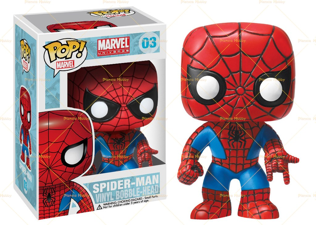 Funko Pop Vinyl Marvel Bobble Head Spiderman