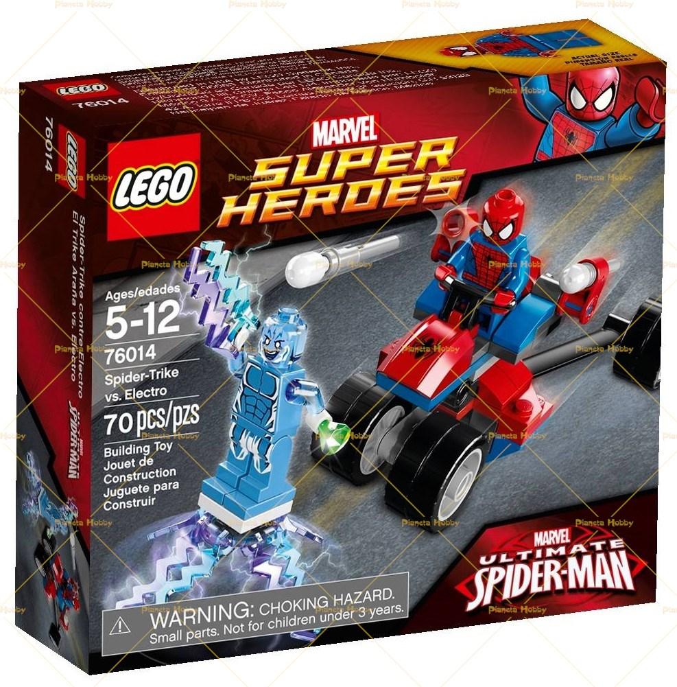 Lego Spiderman Moto Ragno Vs Electro 76014