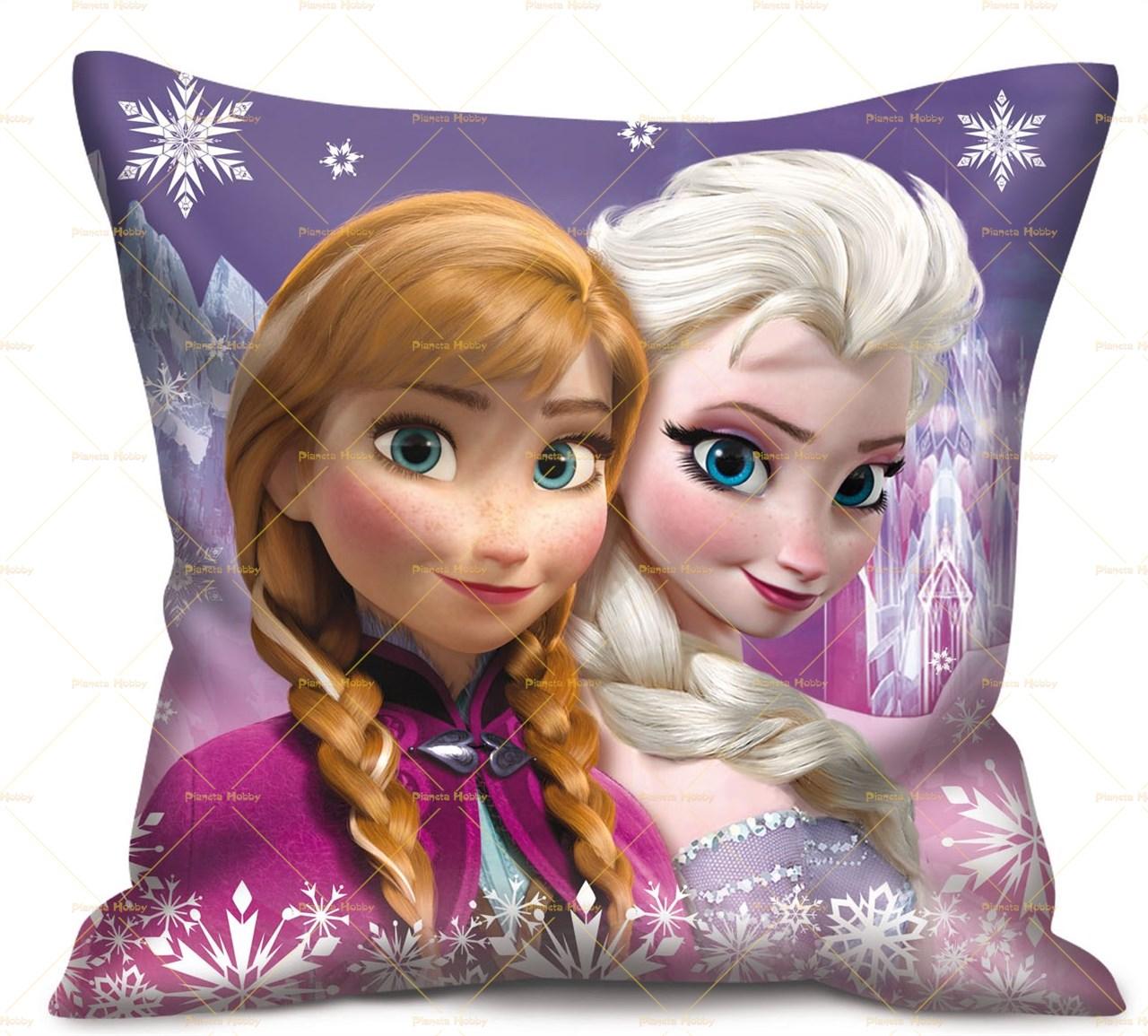 Cuscino frozen elsa e anna