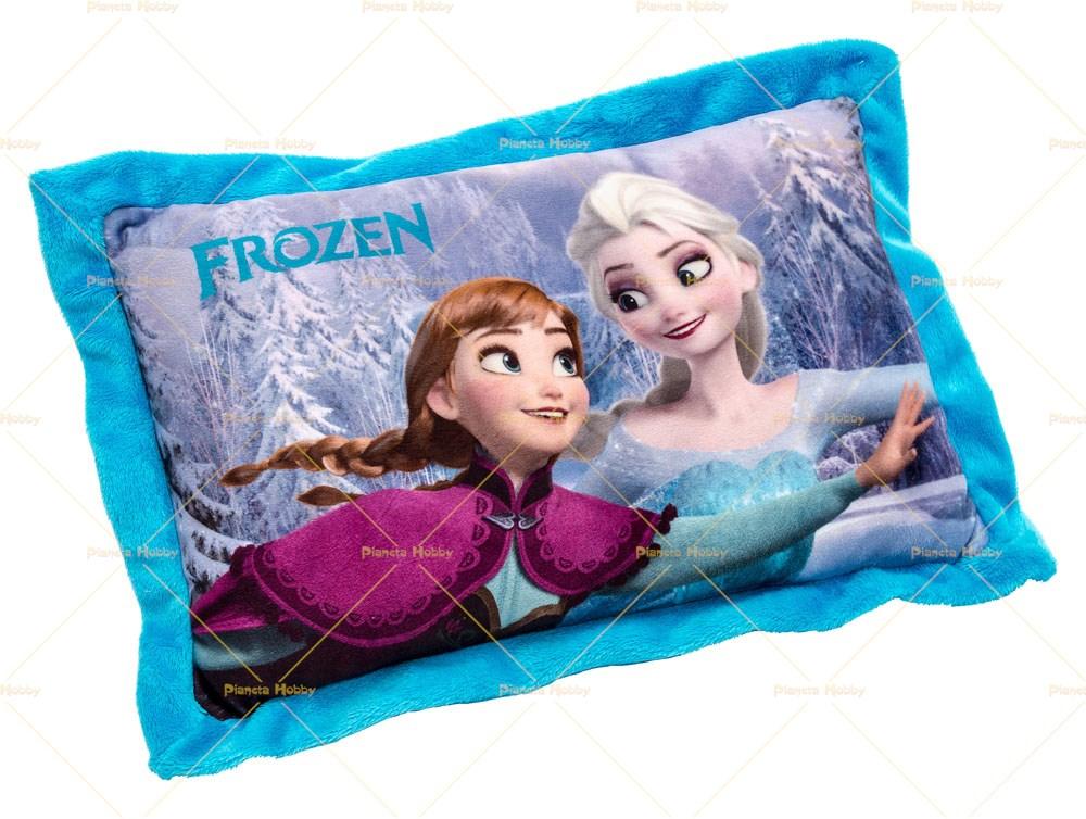Cuscino rettangolare frozen elsa e anna disney