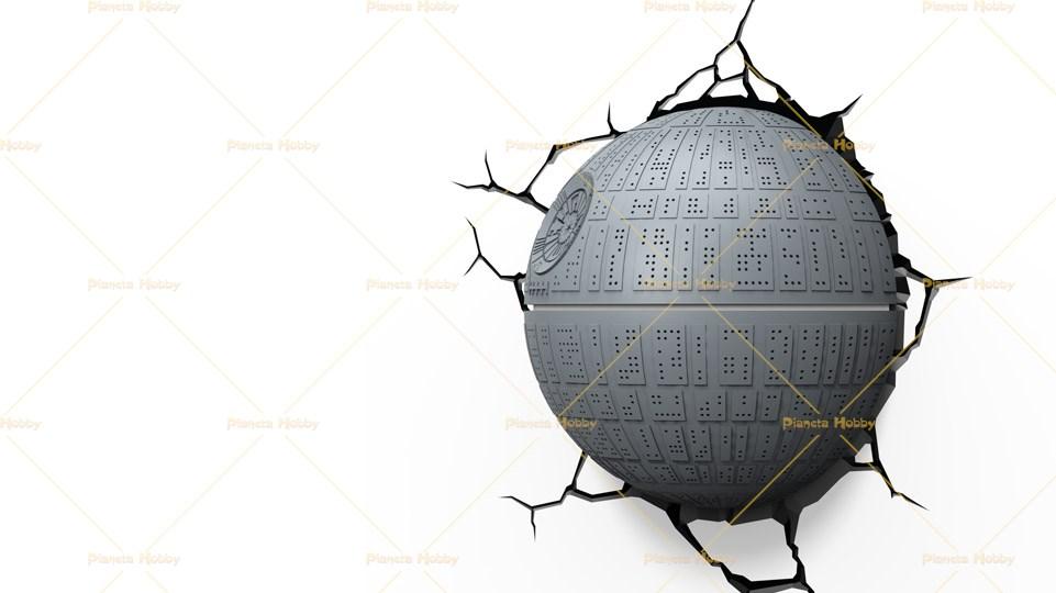 Lampada Lego Cuore : Lampada led a parete star wars morte nera effetto d