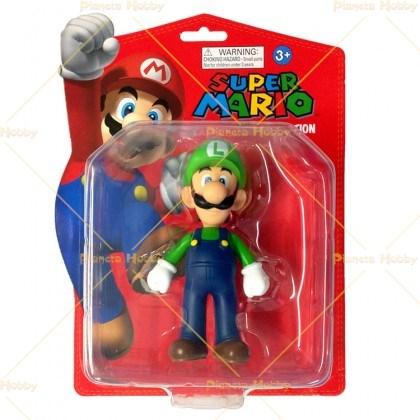 Action Figure Luigi 12 cm di Super Mario NUOVO DA NEGOZIO ITALIANO!!!