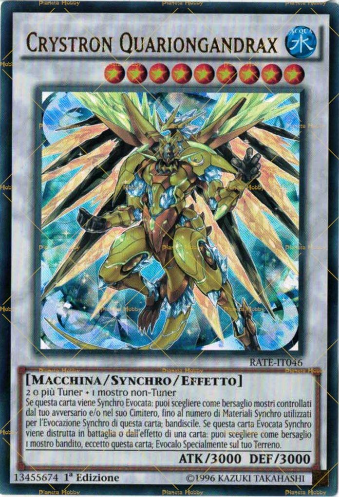 Crystron quariongandrax - Drago furioso occhi diversi ...