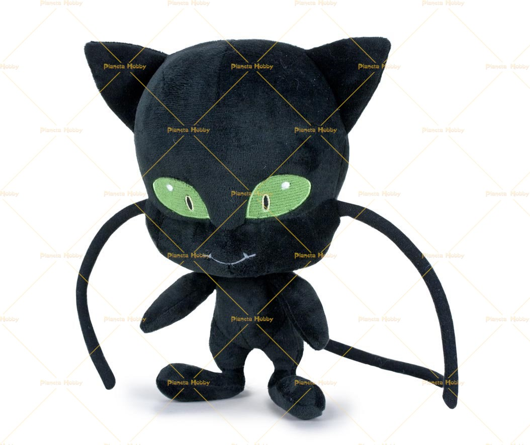 Portachiavi Miraculous originali Ladybug Chat Noir Tikki Plagg Peluche ufficiali