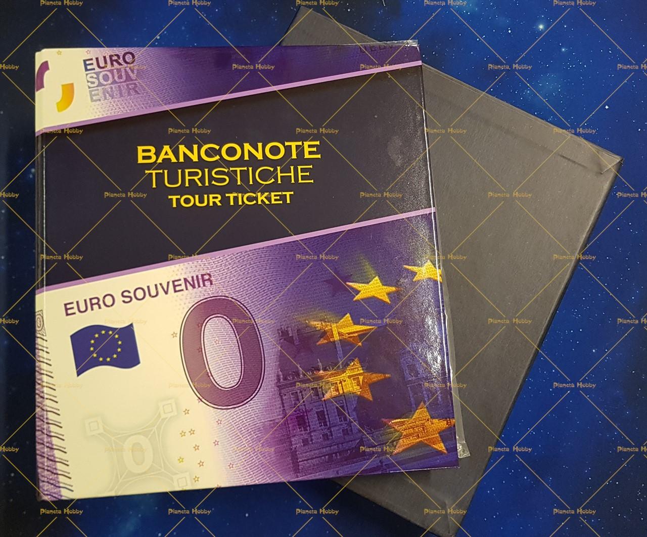 ef3cf05797 Raccoglitore Euro Collection - Banconote Turistiche Tour Ticket Completo