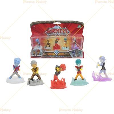 Gormiti Heroes Pack 5 Pack Eroi