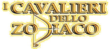 logo della serie cavalieri dello zodiaco