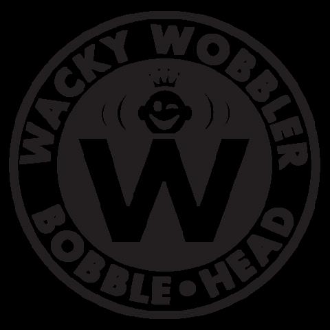 logo della serie funko bobble head meglio datta wacky wobbler