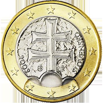 una moneta rara di collezione euro